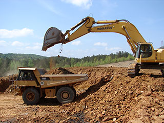 Excavation Services by H. N. Donahoo Contracting Co.