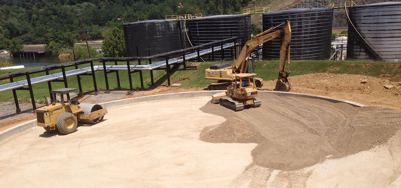 Asphalt Storage Tank Foundation
